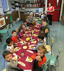 Large Kitchen Facility at Riverside Presbyterian Church Preschool in Riverside, Illinois